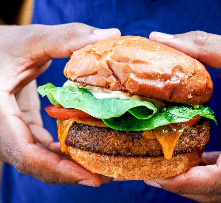 Noma vegan burger