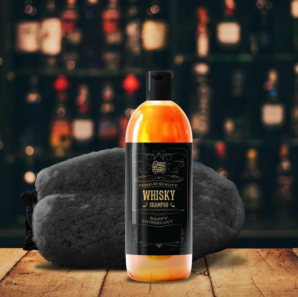 Whisky shampoo