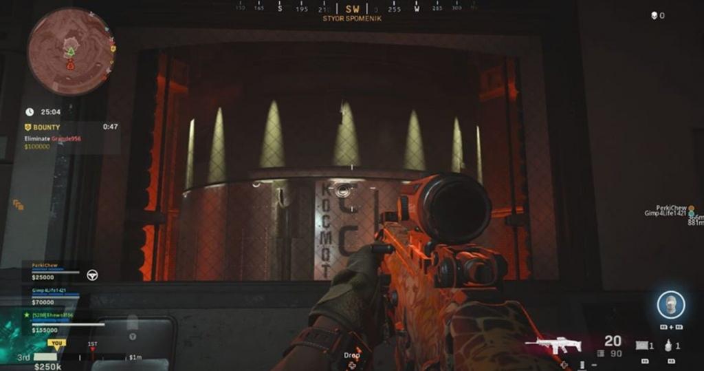 Call of Duty Warzone Nukes