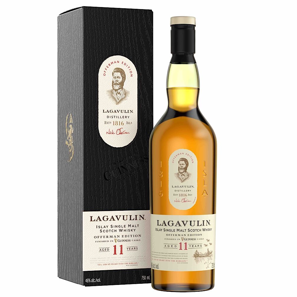 Lagavulin Offerman Edition Guinness Cask Finished Product Shot