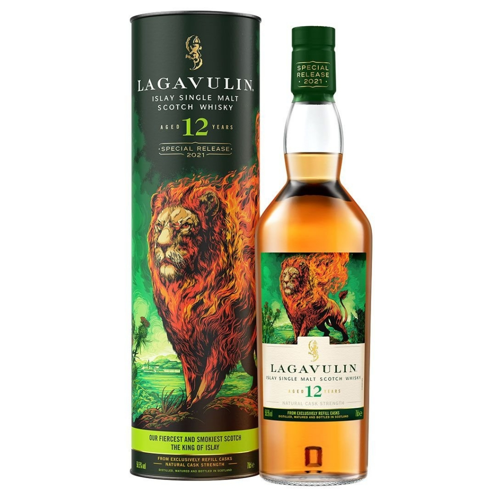 Lagavulin 12 Year Old Special Release  2021 The Lion's Fire